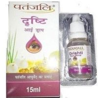 Divya Drishti Eye Drop is ayurvedic medicine helps to cure all types of eye disorders.It is great herbal product for cataract.Divya drishti eye drop is product