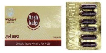 vaidrishi arshkalp capsules