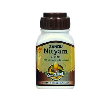 Zandu Nityam Churna For Constipation.