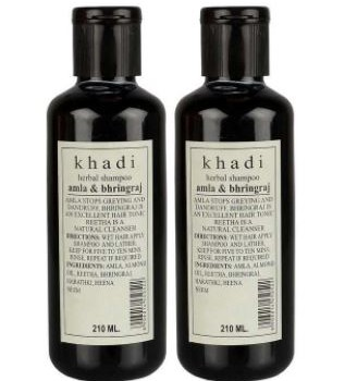 Khadi Herbal Amla And Bhringraj Shampoo