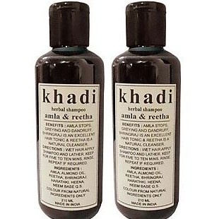 Khadi Herbal Amla And Reetha Shampoo