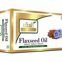 Sri Sri Ayurveda Flax Seed Oil Capsules