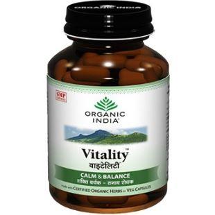 Organic India Vitality Capsules