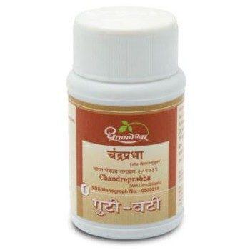 Dhootapapeshwar Chandraprabha Vati With Loha Shilajatu